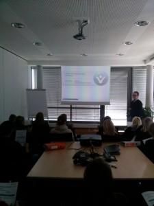 Berufsschüler besuchen Vortrag Thema Projektcontrolling