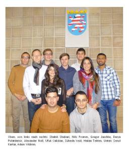 Schüler der Fachoberschule organisieren
