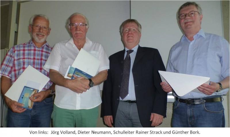 30.06.2015 Verabschiedung Kollegen Bork, Neumann, Volland