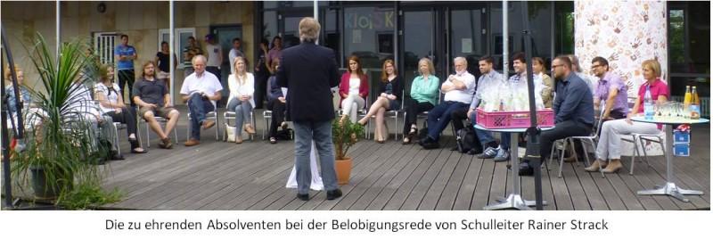 Foto Belobigung 23.07.2015 - Schulhof