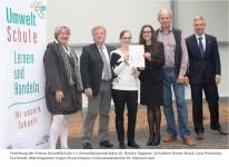 Preisverleihung UmweltSchule 2015