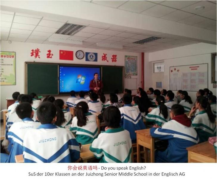 Bild Chinesische Schulklasse